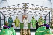 В Лысковской епархии прошли торжества в день обретения мощей праведного Алексия Бортсурманского