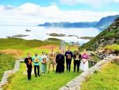 Православные верующие Норвегии совершили паломничество к месту подвига мученицы Суннивы Селийской