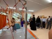 Златоустовская епархия передала комбинированному детскому саду реабилитационный комплекс «Дом Совы»