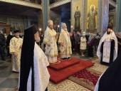 В праздник Собора Валаамских святых в Спасо-Преображенском Валаамском монастыре состоялись архиерейские богослужения