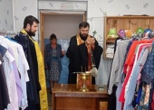В Саянской епархии открыли новый центр гуманитарной помощи