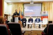 Духовник Первого казачьего университета благословил первокурсников вуза