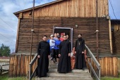 Синодальный отдел по благотворительности передал медикаменты и продукты пострадавшим от пожаров в Якутии