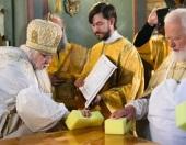 Председатель Синодального отдела по благотворительности освятил Тихвинский храм при московской больнице святителя Алексия