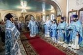 В Кемеровской епархии состоялись торжества в день Собора Кемеровских святых