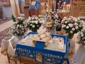 Чин Погребения Пресвятой Богородицы совершили в храмах Русской духовной миссии