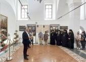 Выставка церковных раритетов открылась в Киево-Печерской лавре