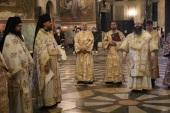 Представитель Русской Церкви принял участие в престольном празднике Патриаршего собора в Софии