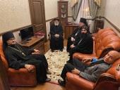 Состоялось совещание по вопросу развития сотрудничества духовных школ Русской Православной Церкви и Коптской Церкви