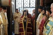 Настоятель подворья Русской Церкви в Софии поздравил митрополита Старозагорского Киприана с тезоименитством
