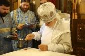 Председатель Синодального отдела по благотворительности освятил главный домовый храм московской больницы святителя Алексия