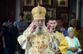 Патриаршее поздравление епископу Единецкому Никодиму с 65-летием со дня рождения