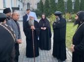 Монашеская делегация из Египта посетила Санкт-Петербургскую митрополию и Валаам
