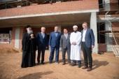 На территории нового хосписа в Казани строится православный храм