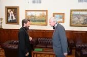 Председатель Отдела внешних церковных связей встретился с послом Чили в России