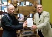 Митрополит Минский Вениамин принял участие в открытии выставки «Тайны белорусской письменности» в Национальном историческом музее Республики Беларусь