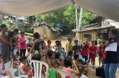 Филиппинско-Вьетнамская епархия организовала горячие обеды для бедных семей Кесона