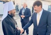 Началась рабочая поездка председателя ОВЦС в Венгрию