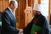 Митрополит Волоколамский Иларион поблагодарил МИД России за внимание к теме гонений на христиан