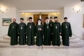 Блаженнейший Архиепископ Тиранский Анастасий встретился с делегацией Украинской Православной Церкви