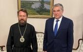 Митрополит Волоколамский Иларион встретился с послом России в Венгрии