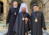 Состоялась встреча председателя Отдела внешних церковных связей с епископом Будимским Лукианом
