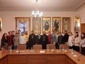 Студенты московских вузов — представители коптской общины Египта посетили Отдел внешних церковных связей