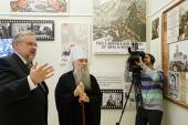 В Музее истории Санкт-Петербургской епархии открылась экспозиция «Верность Отчизне и Богу»