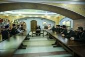 Председатель Синодального комитета по взаимодействию с казачеством встретился с казачьими духовниками Ставропольской епархии