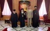Состоялась встреча Блаженнейшего Патриарха Иерусалимского Феофила с послом России в Израиле