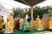 Слово Святейшего Патриарха Кирилла после молебна на площади Александра Невского в Санкт-Петербурге
