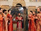 Митрополит Волоколамский Иларион возглавил престольный праздник академического храма Общецерковной аспирантуры