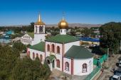 В Талдыкорган принесен список с чудотворной Тихвинской иконы Пресвятой Богородицы