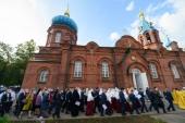 В Пскове освящен воинский храм святого князя Александра Невского