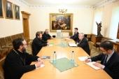 Состоялась встреча председателя ОВЦС с послом Соединенных Штатов Америки в Российской Федерации