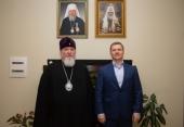 Председатель Синодального комитета по взаимодействию с казачеством провел рабочую встречу с заместителем министра экономического развития РФ