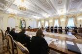 Состоялось заседание организационного комитета Архиерейского Собора