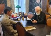 Митрополит Таллинский и всея Эстонии Евгений встретился с мэром Таллина