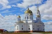 Глава Казахстанского митрополичьего округа совершил великое освящение новопостроенного Воскресенского кафедрального собора г. Кокшетау
