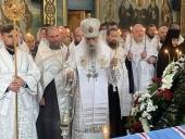 Состоялось отпевание митрополита Ровенского и Острожского Варфоломея