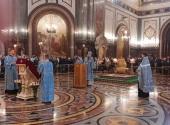 В Храме Христа Спасителя в Москве состоялся благодарственный молебен перед иконой Божией Матери «Неопалимая Купина»