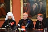 Митрополит Волоколамский Иларион в дистанционном режиме принял участие в конференции патрологов в Вене
