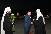 Святейший Патриарх Кирилл прибыл в Волгоград