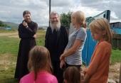 Представители Синодального отдела по благотворительности посетили в Забайкалье пострадавшие от паводков села