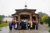Патриарший экзарх всея Беларуси освятил храм на территории Республиканского клинического госпиталя инвалидов инвалидов Великой Отечественной войны