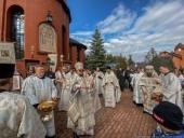 Торжества по случаю 30-летия Архангело-Михайловского храмового комплекса прошли в Токсово