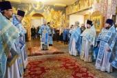 В праздник Рождества Пресвятой Богородицы Патриарший экзарх всея Беларуси возглавил престольные торжества в храме деревни Тарасово Минского района