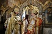 Иерарх Болгарской Православной Церкви совершил Литургию на Патриаршем подворье в Софии