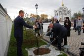 В аэропорту Хабаровска освящен храм в честь иконы Божией Матери «Благодатное небо»