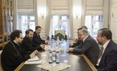 Митрополит Волоколамский Иларион встретился с ректором Высшей школы экономики